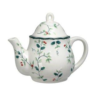 Winterberry Sculpted Teapot