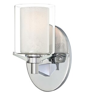 Price comparison Johns 1-Light Bath Sconce By Darby Home Co
