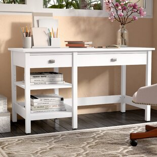 Great Price Lupo Desk By Three Posts