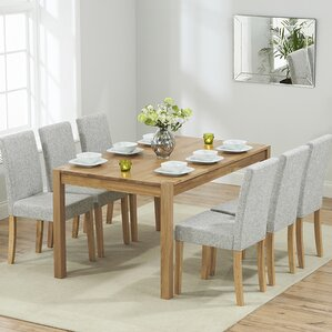 rory dining set with 6 chairs