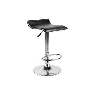 Orren Ellis Mackles Adjustable Height Swivel Bar Stool (Set of 2)