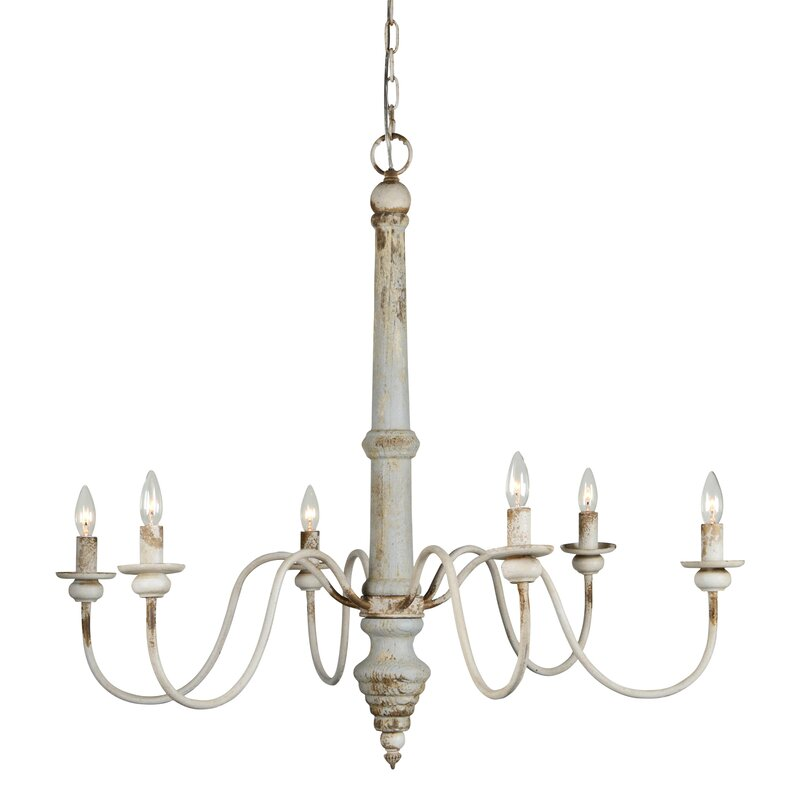 Allie 6-Light Candle Style Chandelier
