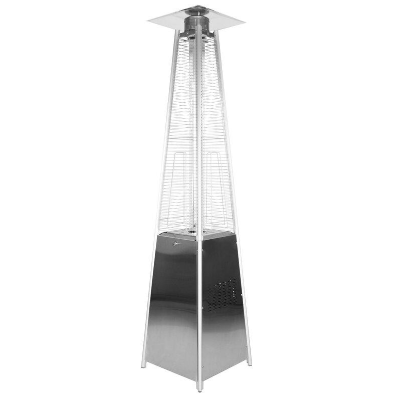 Garden Sun Stainless Steel Pyramid 34,000 BTU Propane Patio Heater