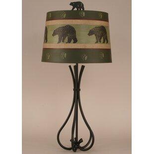 Rustic Living Iron 5-Leg 32.5 Table Lamp