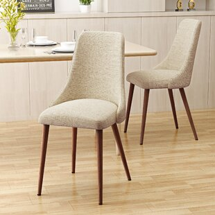 Bargain Doolin Mid-Century Upholstered Dining Chair (Set of 2) by Brayden Studio Reviews (2019) & Buyer's Guide