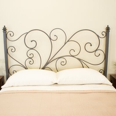 Holly Open-Frame Headboard Benicia Foundry and Iron Works Size: Queen