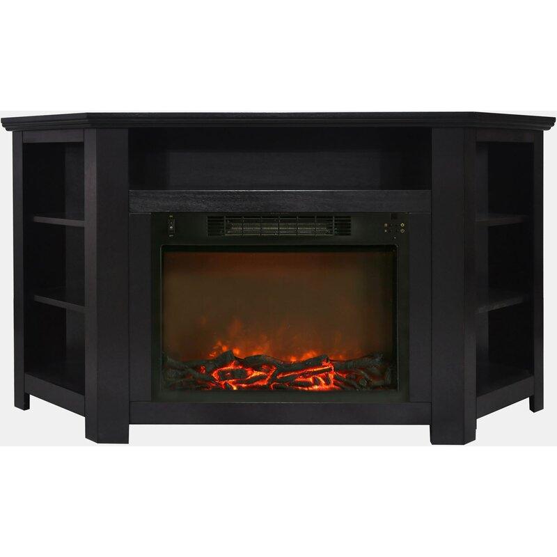 cesar modern electric fireplace tv stand
