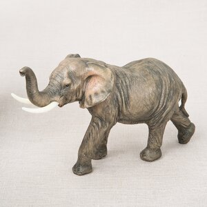 Natural Looking Elephant Figurine
