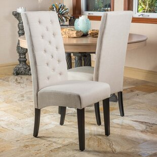 Lemaire Upholstered Dining Chair (Set of 2) Charlton Home