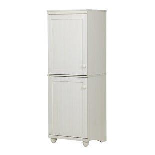 South Shore Hopedale 2-Door Narrow Storage Cabinet