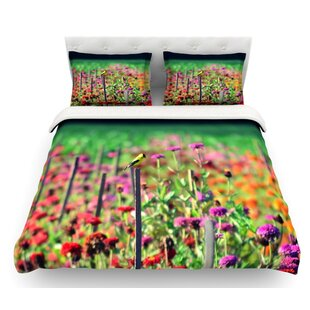 Live in the Sunshine by Robin Dickinson Featherweight Duvet Cover