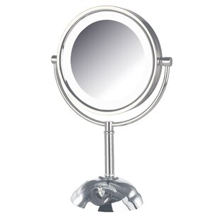 Bargain Dual Sided Lighted LED Vanity Mirror By Symple Stuff