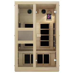 Ensi Ultra-Low EMF 2 Person FAR Infrared Sauna By JNH Lifestyles
