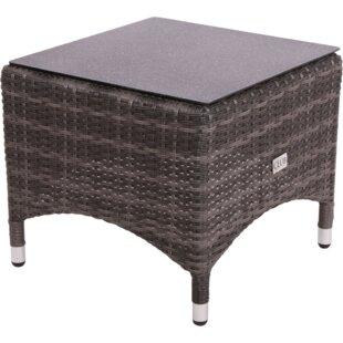 Soho Rattan Side Table By Lesli Living