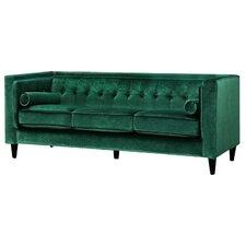 Modern Green Sofa modern green sofas + couches | allmodern