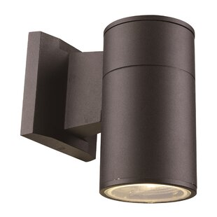 Comparison Alessia 1-Light Outdoor Sconce By Ivy Bronx