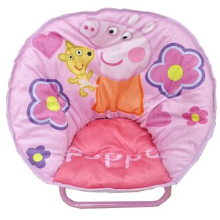 Toddler Mini Saucer Kids Camping Chair by Idea Nuova