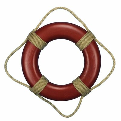 """Handcrafted Nautical Decor 20"""" Decorative Life Ring Wall Plaque Wall Décor"""