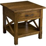 Milagro End Table with Storage by Charlton Home®