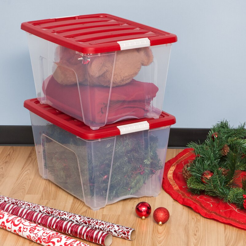 holiday ornament storage