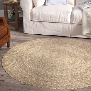 Fleuristes Jute Hand-Woven Natural Area Rug by Laurel Foundry Modern Farmhouse
