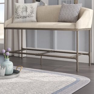 Taube Upholstered Bench by Laurel Foundry Modern Farmhouse