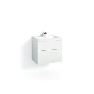 Philomene 60cm Wall-Mounted Vanity Unit Base By Ebern Designs