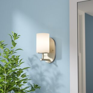 Bagwell 1-Light Bath Sconce by Three Posts
