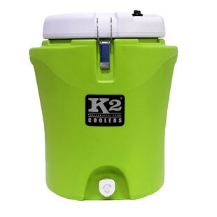 20 Qt. K2 Water Jug 5 Gallon Lid Cooler by K2 Coolers