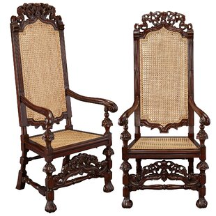 Reviews William and Mary Mahogany Armchair (Set of 2) by Design Toscano Reviews (2019) & Buyer's Guide