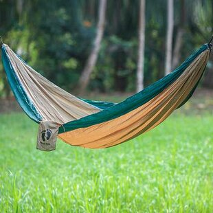 Single Parachute Nylon Camping Hammock