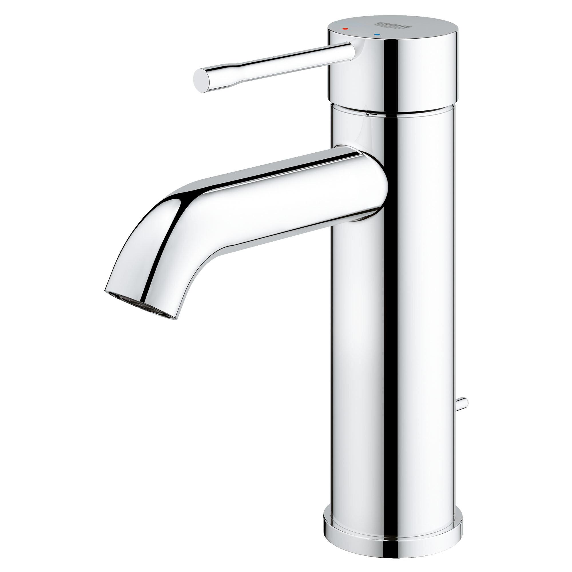 Grohe Essence Single Hole Bathroom Sink Faucet Reviews Wayfair