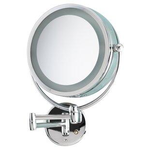 Danielle Creations Revolving Lit Mirror