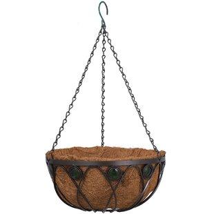 Hanging Basket Metal Planters Free Shipping Over 35 Wayfair