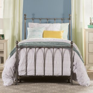 Barton Twin Panel Bed with Trundle by Three Posts