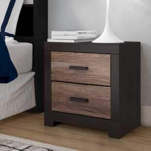 Bargain Brockett 2 Drawer Nightstand By Latitude Run