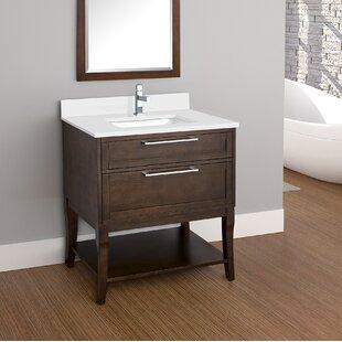Best Price Sapphire 31 Single Bathroom Vanity Set ByLatitude Run