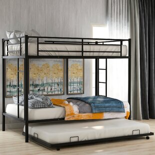Leyland Twin over Twin Bunk Bed with Trundle by Isabelle amp Max