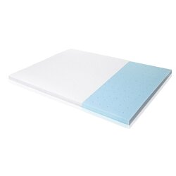 ventilated gel memory foam mattress topper