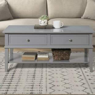 Dmitry Coffee Table with Storage by Beach..