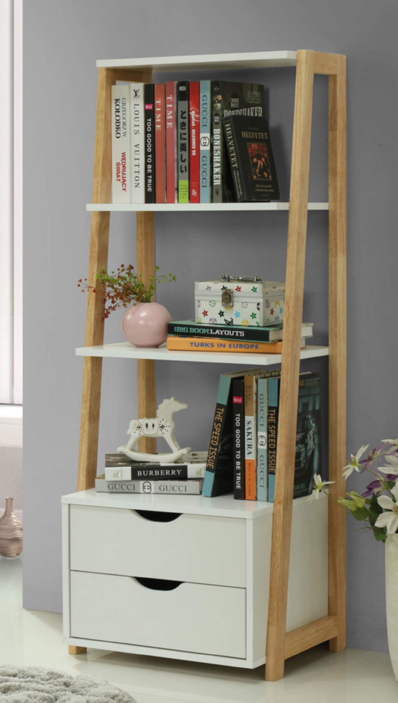Welland Ladder Bookcase