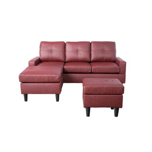 Reis Reversible Sectional with Ottoman