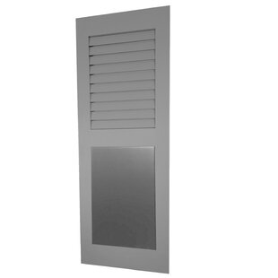 Louver Flat Panel Combination Shutter Single By Shutters By Design