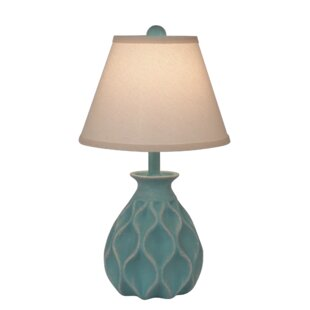 Comparison Jacinto Indented Diamond 19 Table Lamp By Highland Dunes
