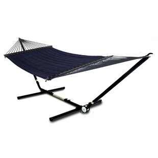 Hebden Adjust to Fit Double Tree Hammock with Stand by Freeport Park