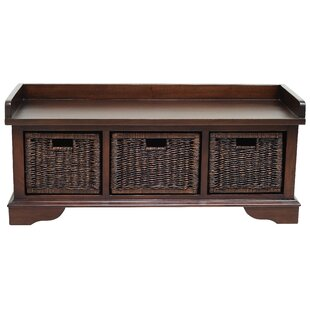 Darby Home Co Maryellen Wood Storage Bench