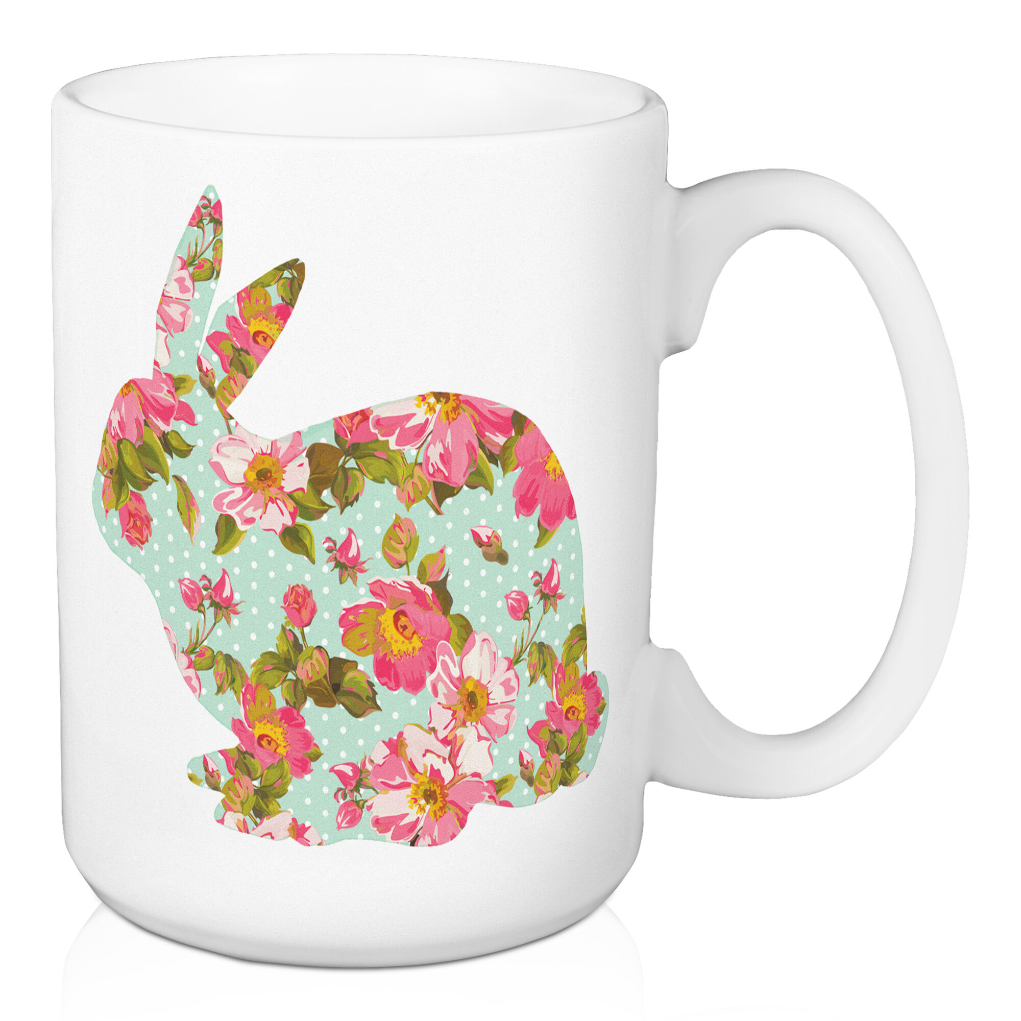August Grove Choi Rabbit Coffee Mug Wayfair