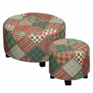2 Piece Ottoman Set by ESSENTIAL D?COR & BEYOND, INC