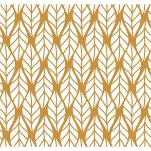 romney retro geometricalremovable 10 l x 24 w peel and stick wallpaper roll