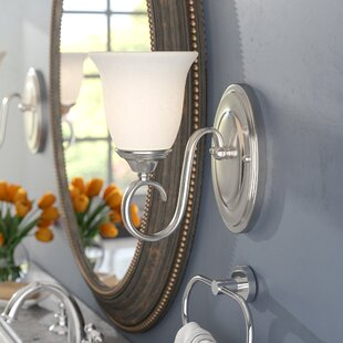 Broadwell 1-Light Bath Sconce by Charlton Home
